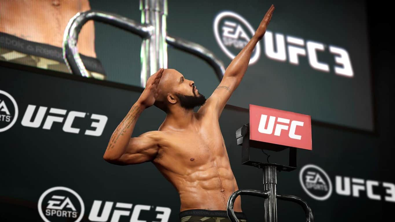 EA Sports UFC 3 on Xbox One
