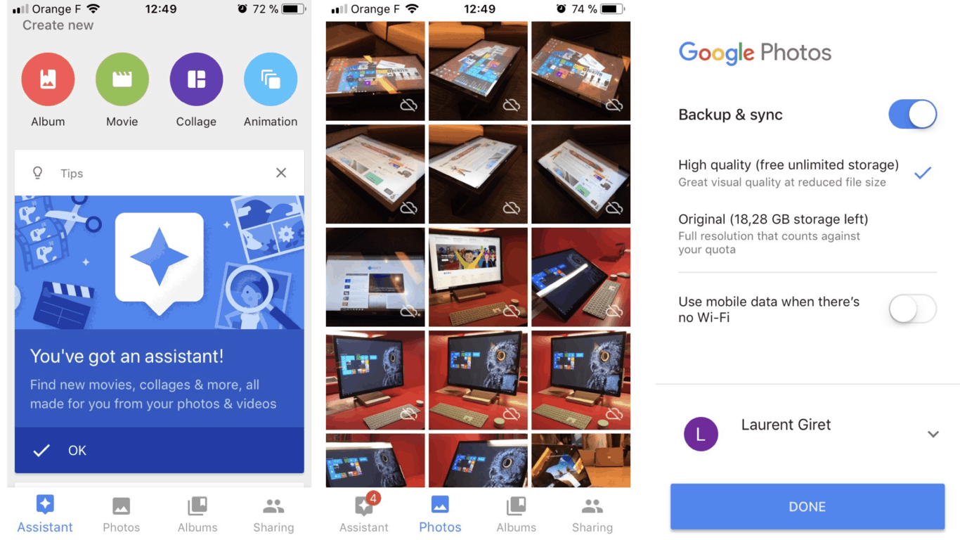 Hey Microsoft, a standalone Photos app for iOS and Android