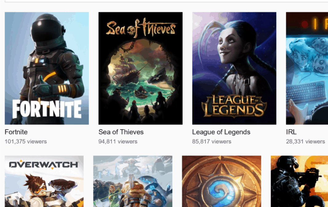 Xbox One's Sea of Thieves is one of the top games on Twitch