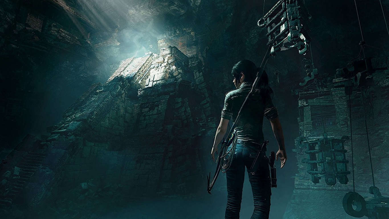 Shadow of the Tomb Raider video game on Xbox One and Windows 10