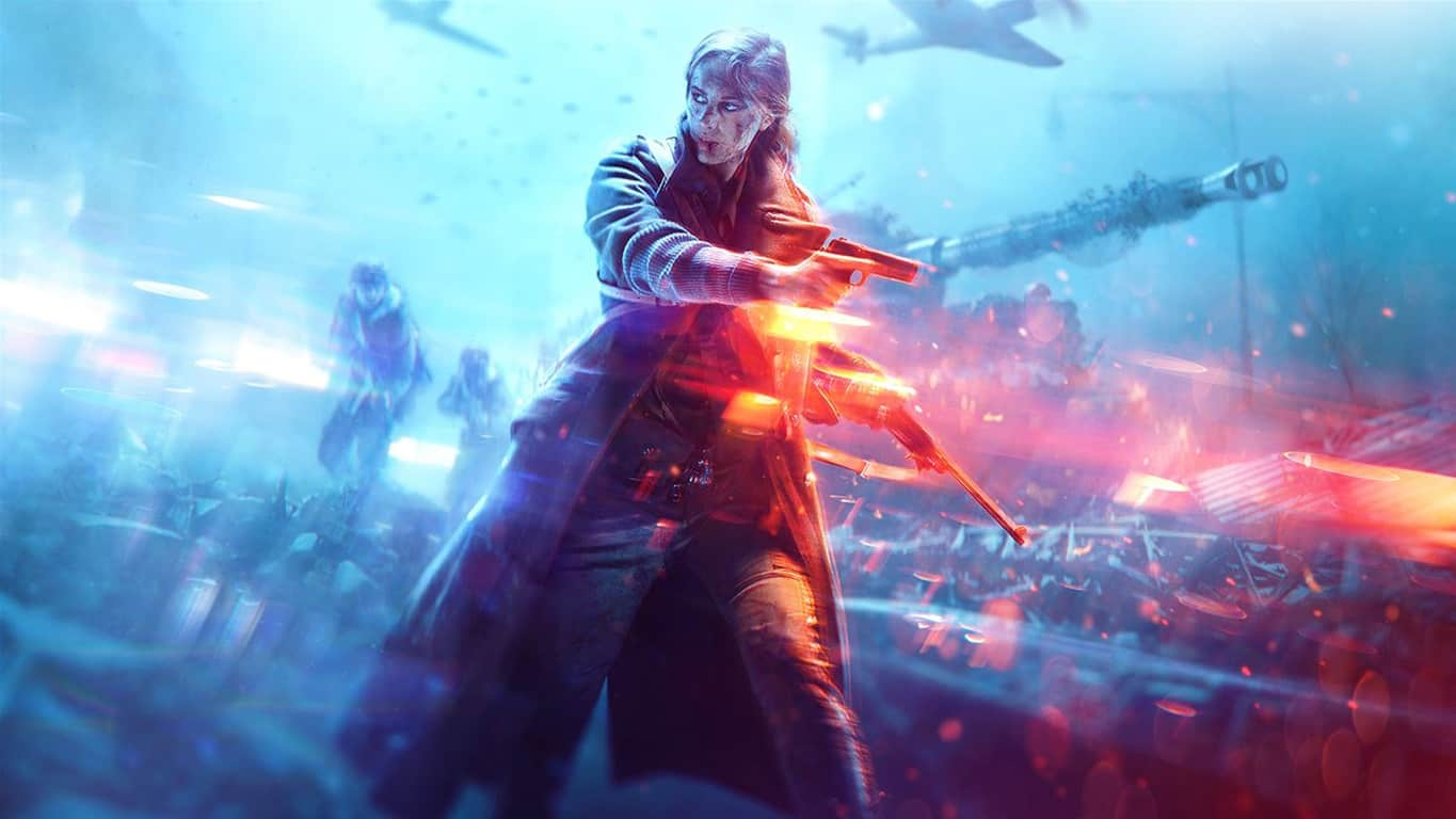 Battlefield V on Xbox One