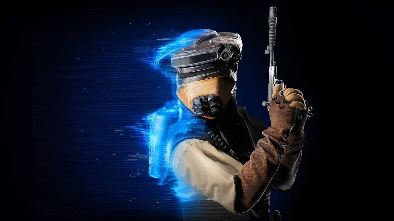 Star Wars Battlefront II - Leia as Boushh on Xbox One