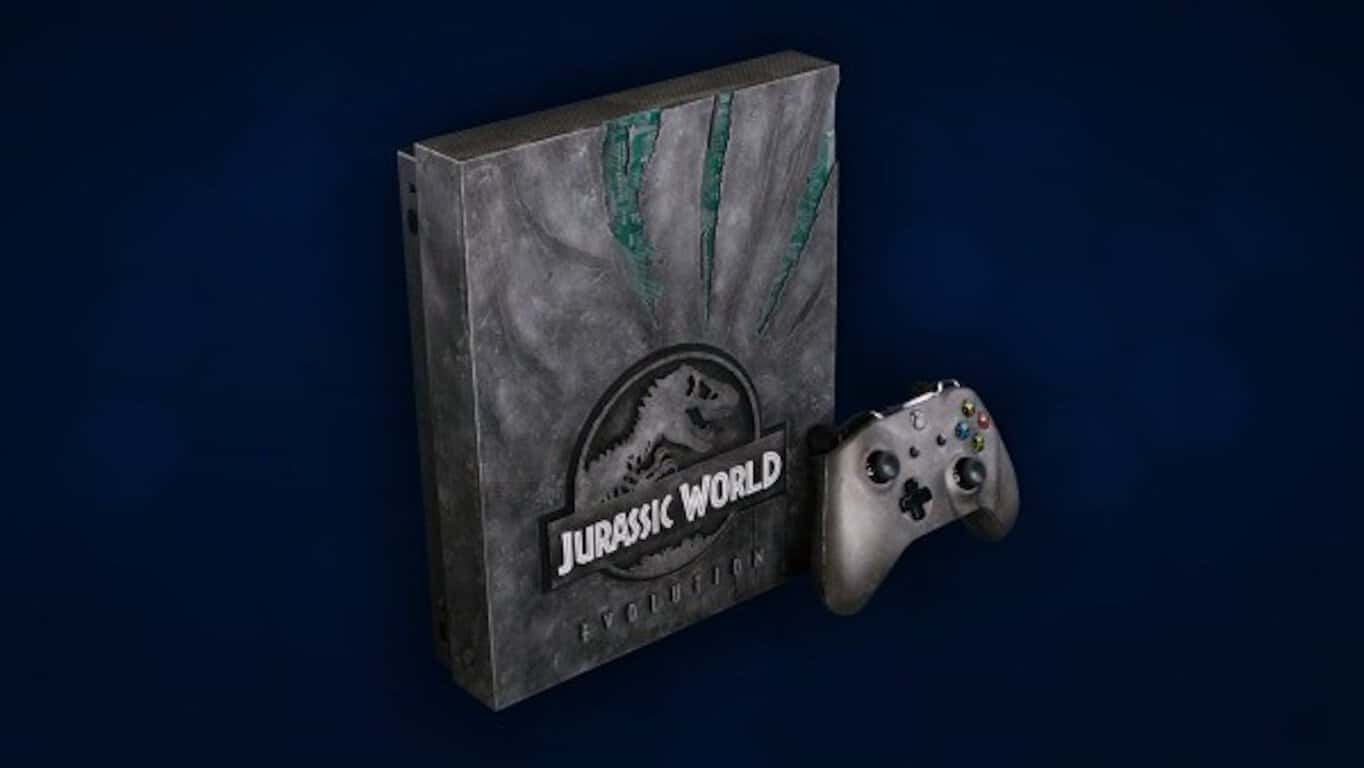 Microsoft, Xbox One, Xbox, Xbox One X, Jurassic World Evolution