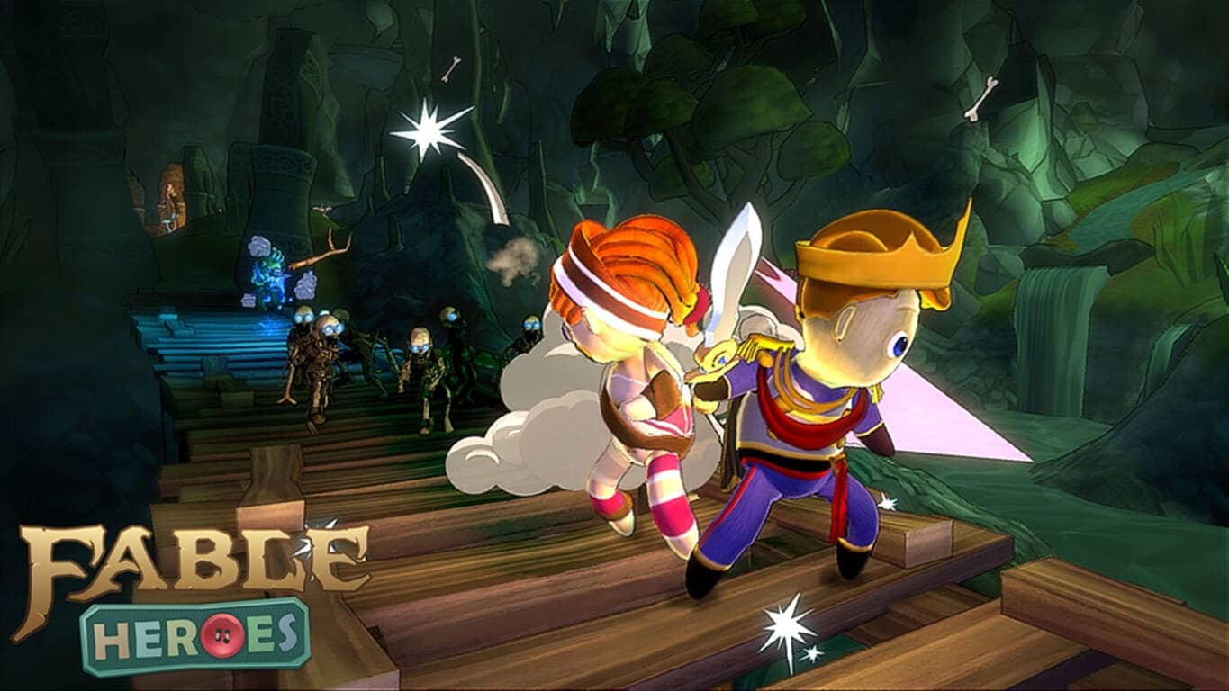 Fable Heroes video game on Xbox 360 and Xbox One