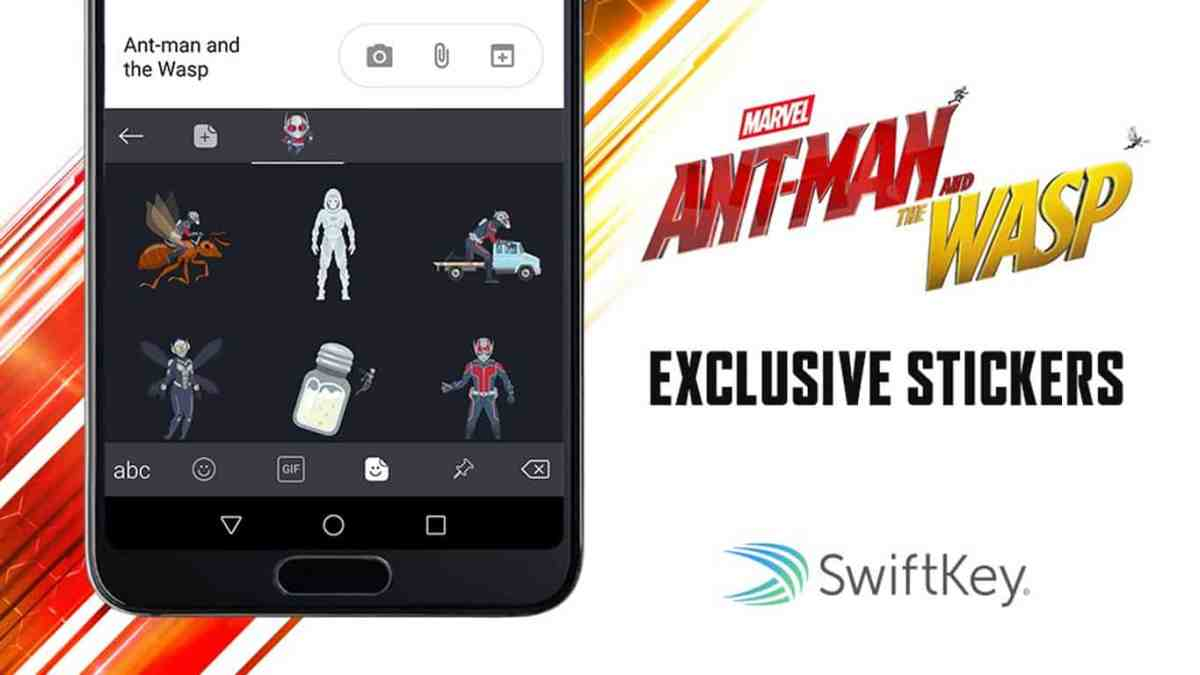 Microsoft's SwiftKey keyboard gets exclusive Ant-Man and The