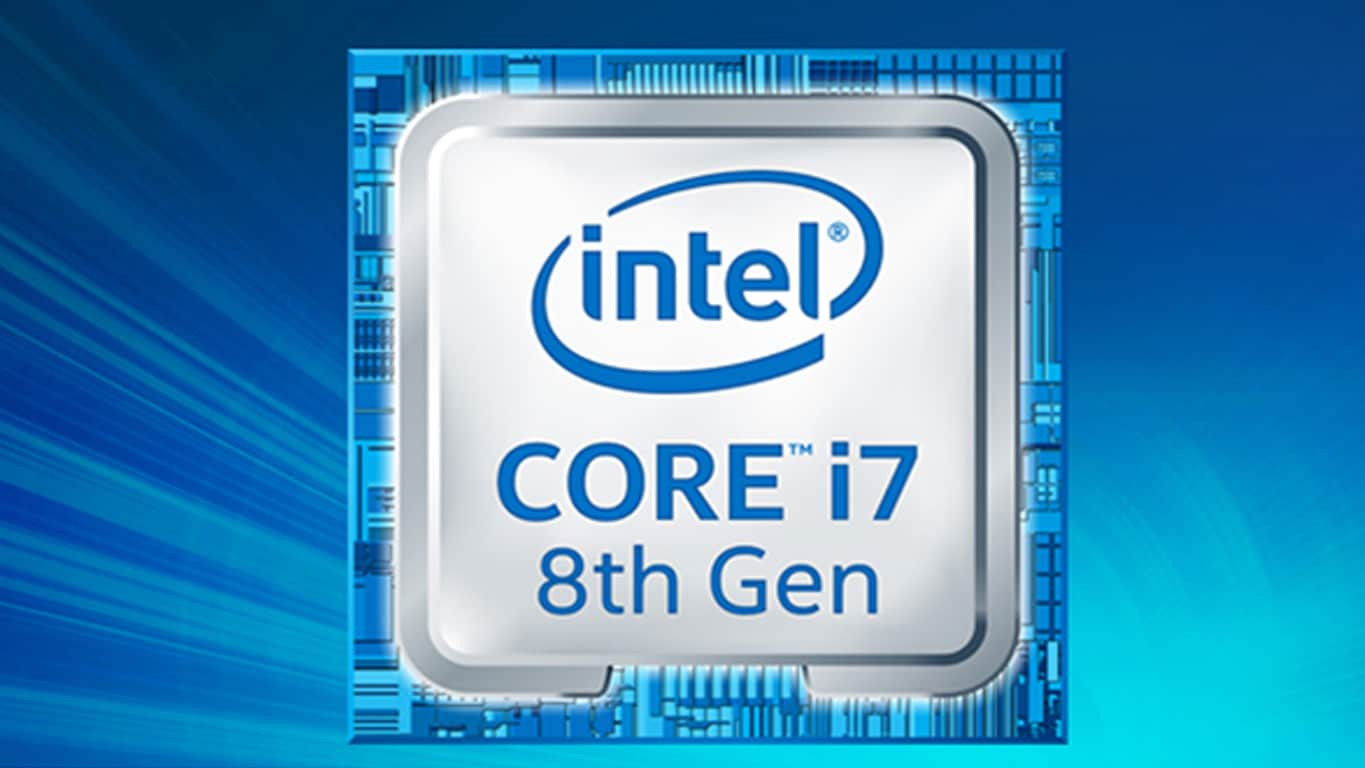8th Gen Intel Core i7 Processor