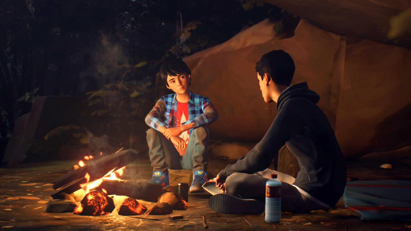 Life is Strange 2 video game on Xbox One