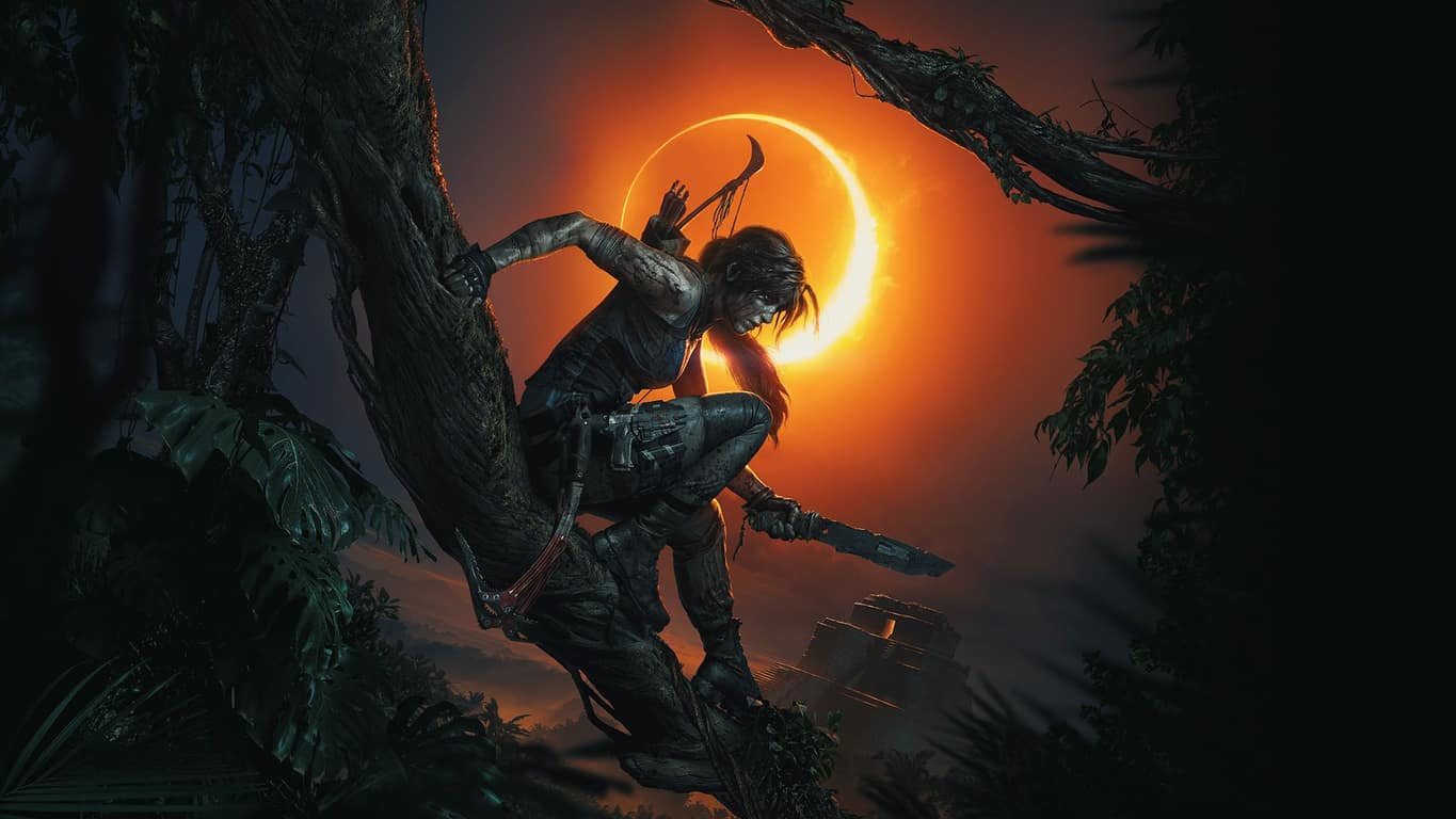Shadow of the Tomb Raider video game on Xbox One