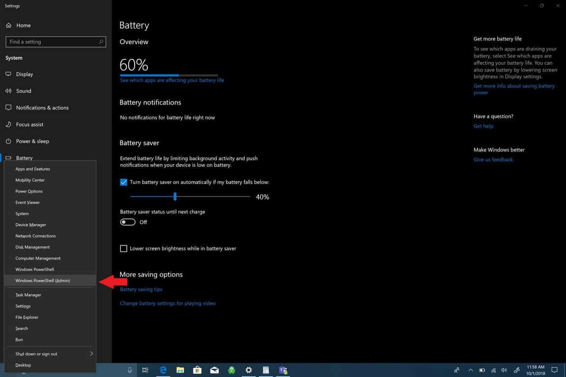 How to generate a battery report on Windows 10 OnMSFT com