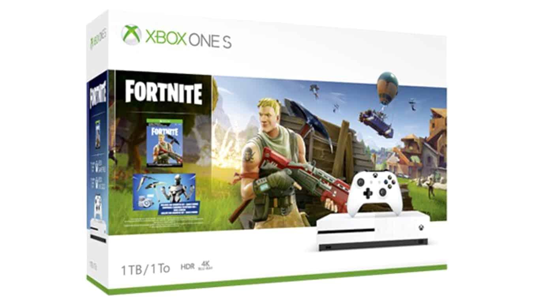 Xbox One S Fortnite Bundle