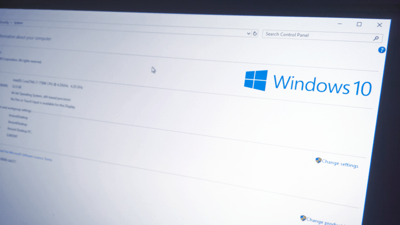 How to customise your Windows 10 PC's manufacturer