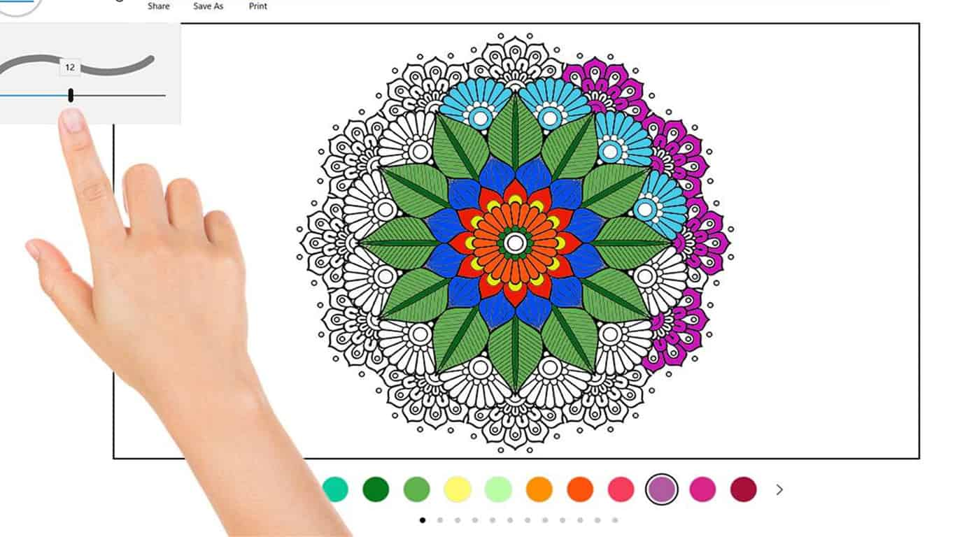 Tired of paying $100 for Windows 10 coloring book apps? Grab ...