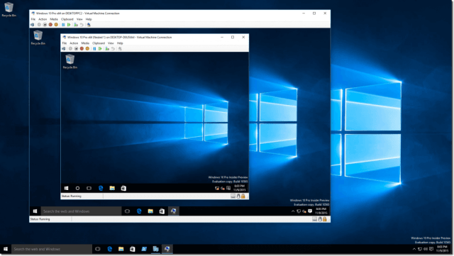 How to install a virtual machine on Windows 10 using Hyper V, now