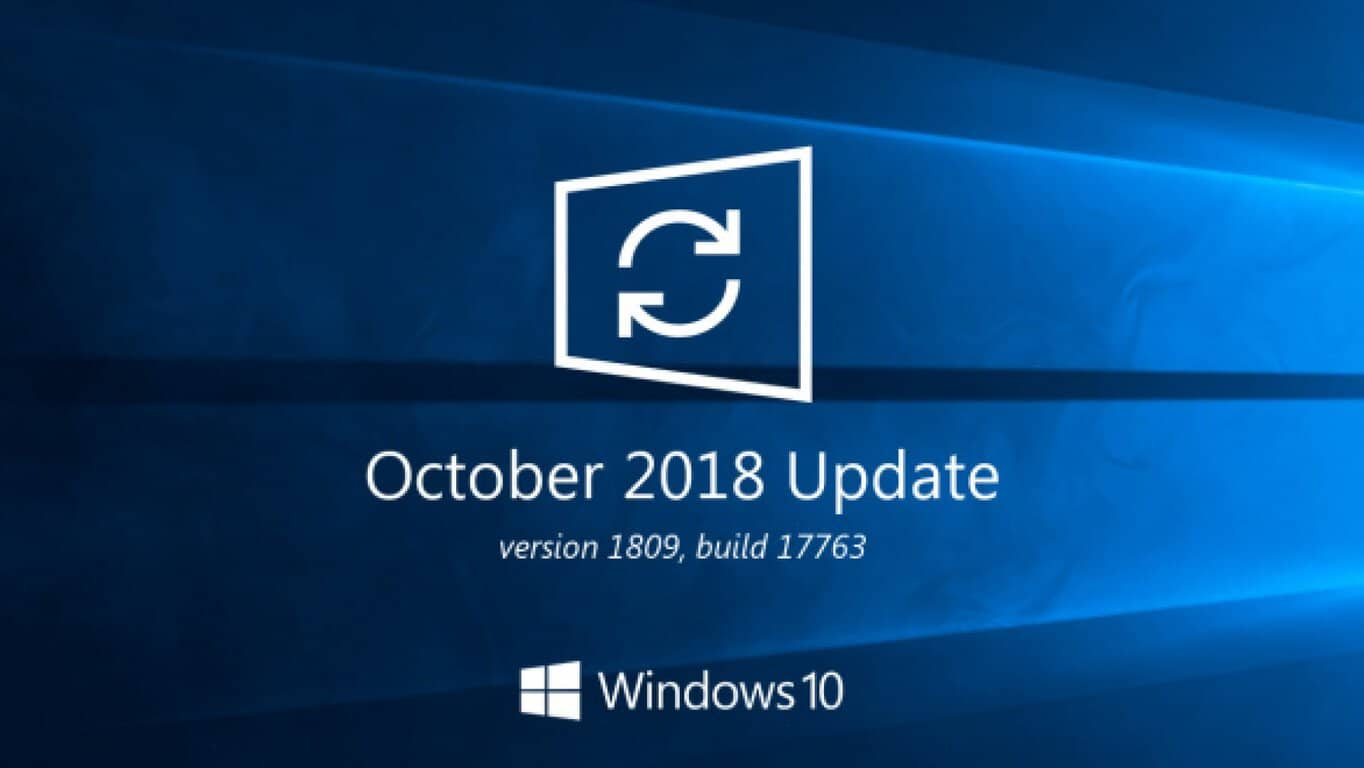 May Patch Tuesday Update for Windows 10 version 1809 may