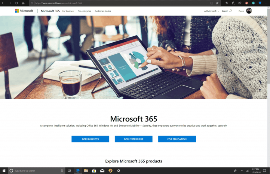 "The Microsoft 365 Insider program is ""the evolution of the Windows"