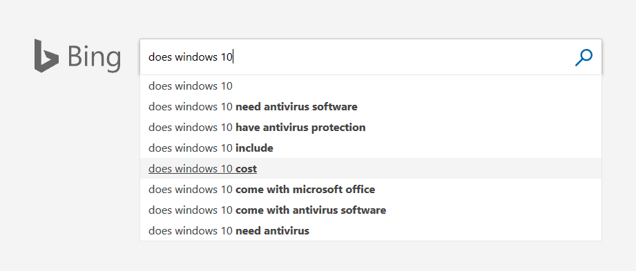 """""""Does Windows 10 need antivirus"""" ranks highly in search results"""