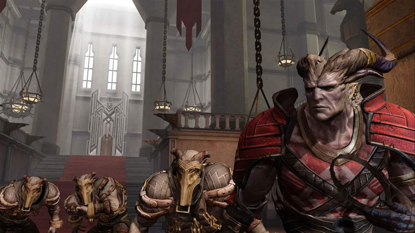 Dragon Age 2 video game on Xbox One