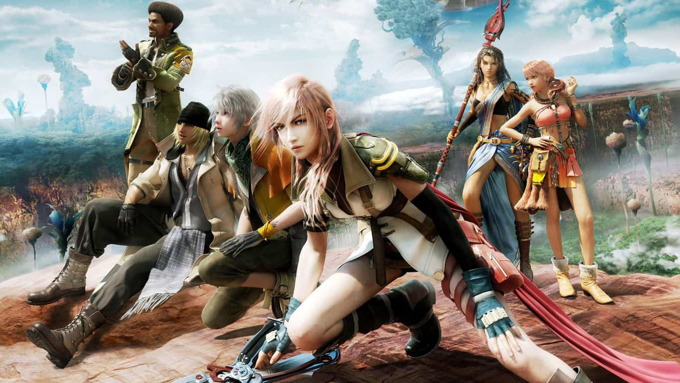 All three Final Fantasy XIII Xbox 360 video games now
