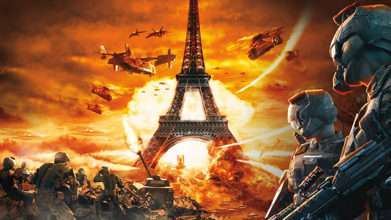 Tom Clancy's EndWar video game on Xbox One