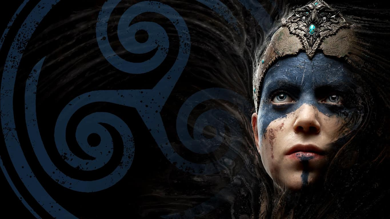 Hellblade: Senua's Sacrifice video game on Xbox One