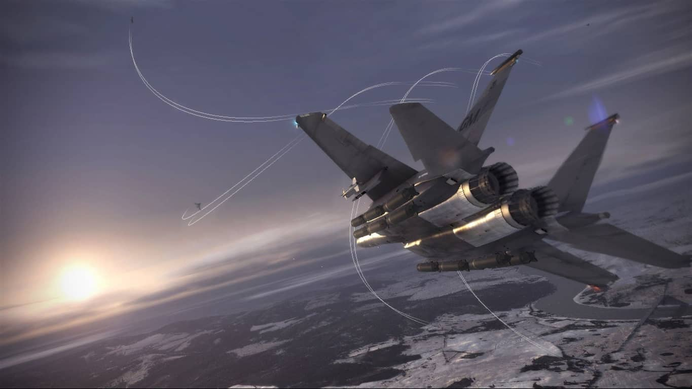 Ace Combat 6 video game on Xbox 360 and Xbox One