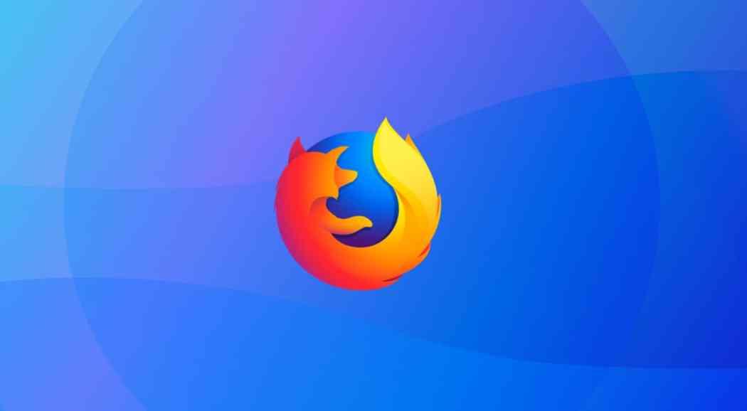 Mozilla Firefox browser on Windows 10