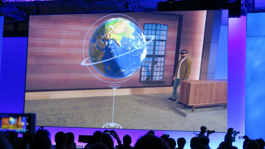 Microsoft's Spatial Anchor is a cloud AR platform that