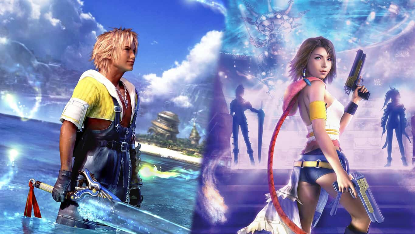 Final Fantasy X and X-2 video games on Xbox One
