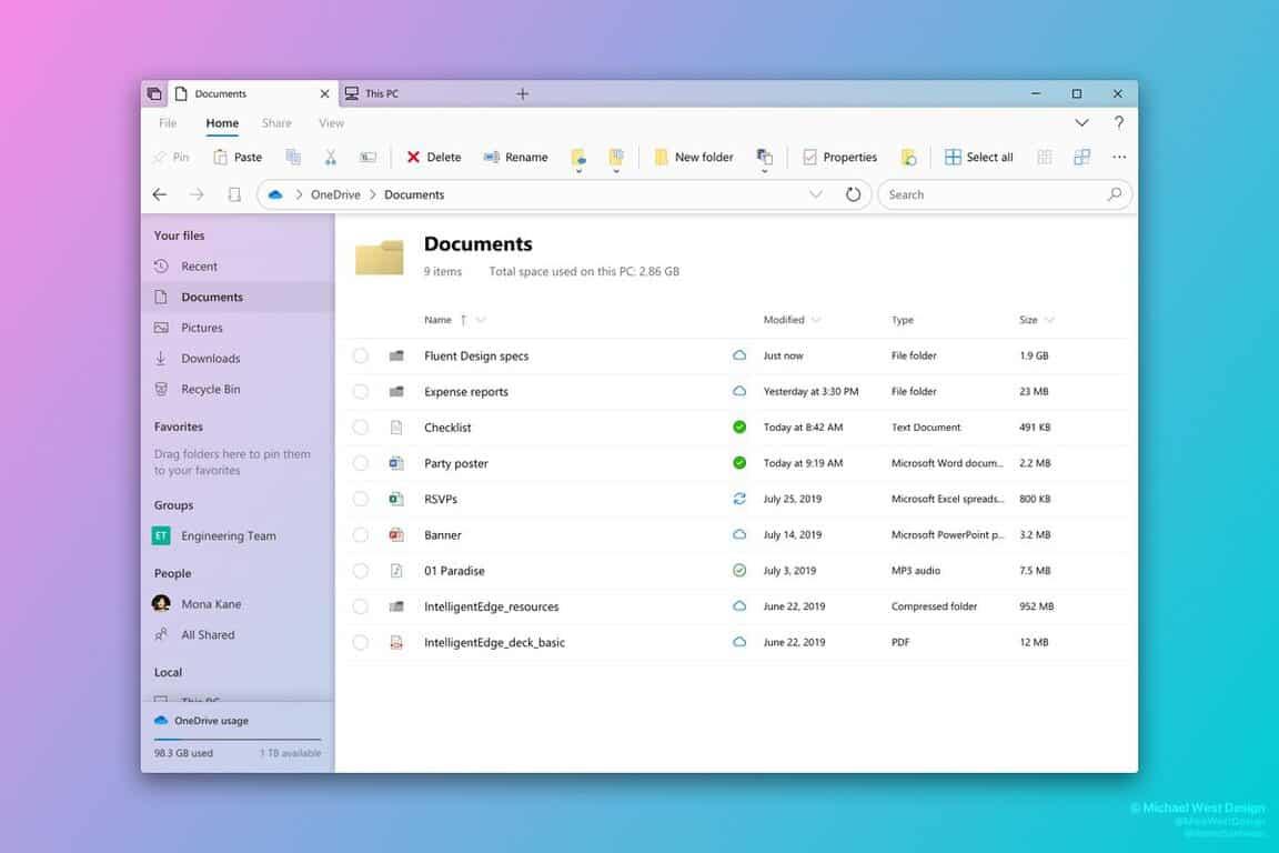 windows sidebar download