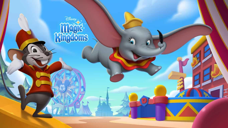 Disney Magic Kingdoms video game on Windows 10