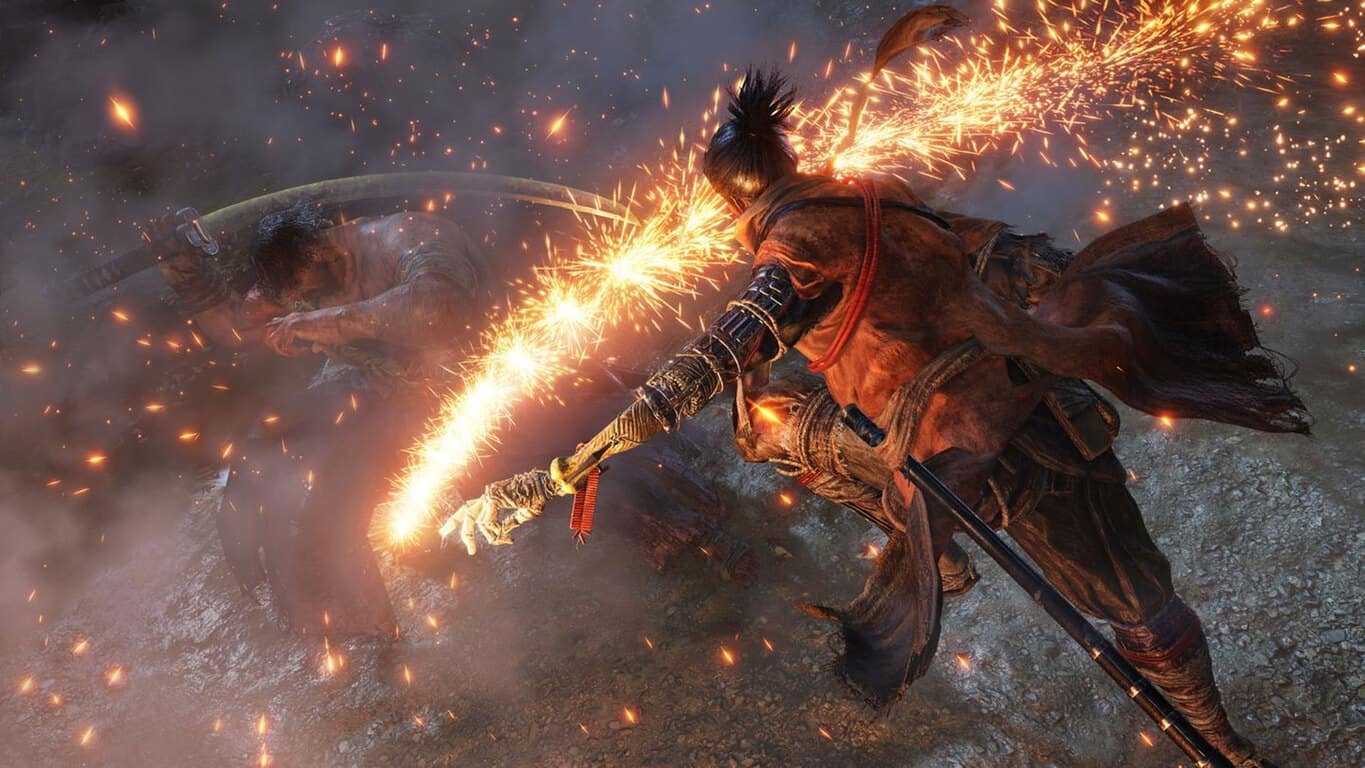 Sekiro: Shadows Die Twice video game on Xbox One