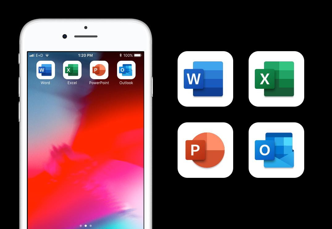 Office Insiders on iOS get redesigned icons for Word, Excel