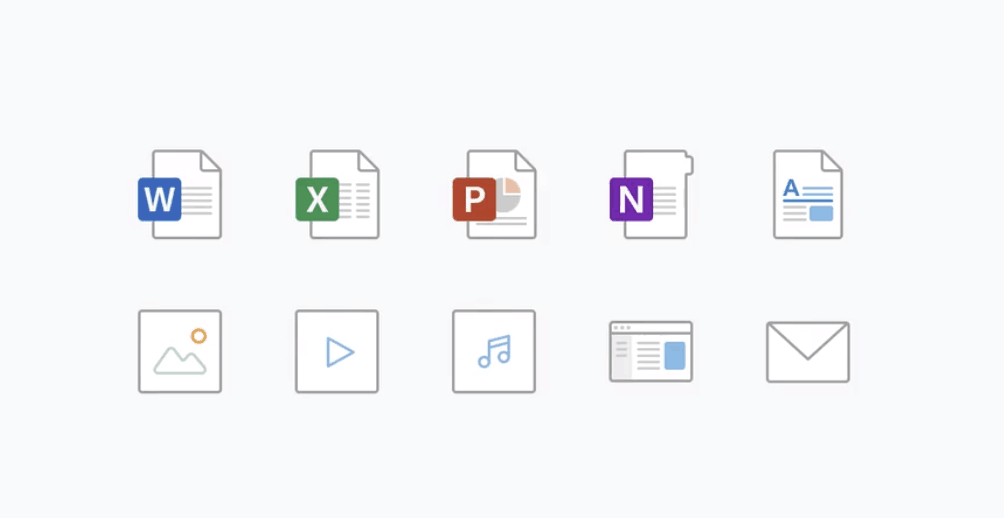 Filetype icons for Office get their own redesign, now available for