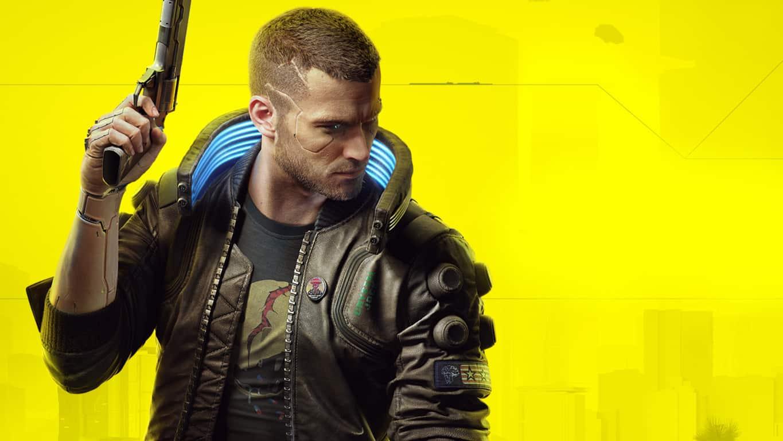 Cyberpunk 2077 video game on Xbox One.
