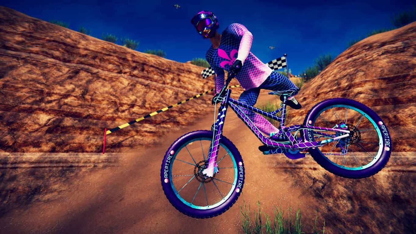 Descenders video game on Xbox One