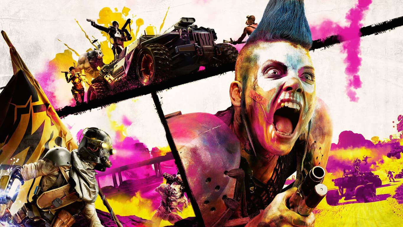 Rage 2 video game on Xbox One.