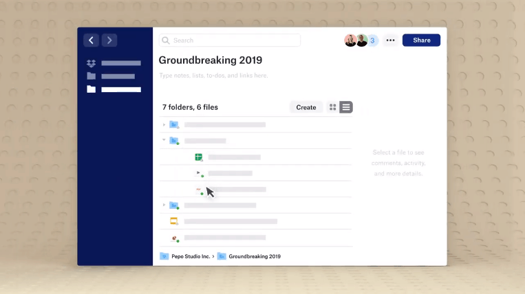"""All-new desktop app on Windows and Mac for the """"new Dropbox"""