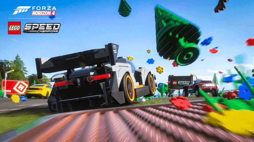 Forza Horizon 4's LEGO Speed Champions expansion is now available on