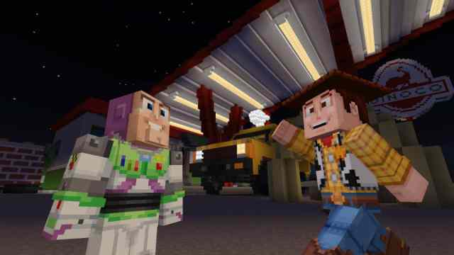 Minecraft – Toy Story mashup pack now available in the Minecraft
