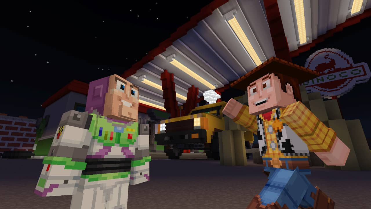 Minecraft – Toy Story mashup pack now available in the