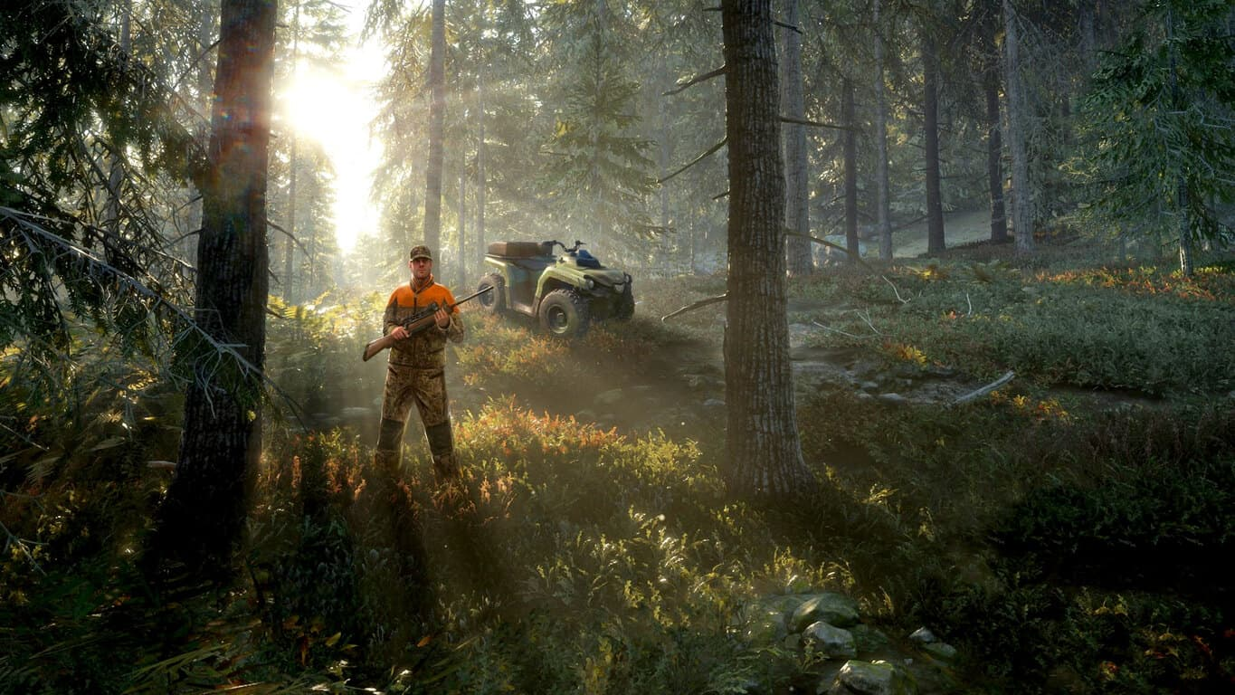 theHunter: Call of the Wild video game on Xbox One