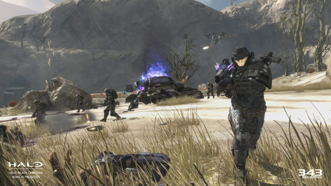 3 Million Gamers Played Halo Reach On Pc And Xbox One