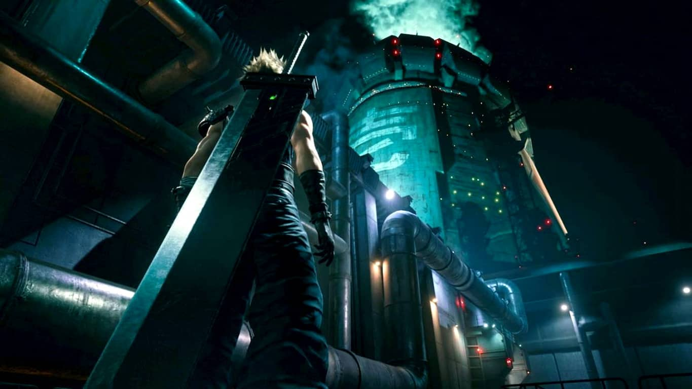 Final Fantasy VII Remake video game on Xbox One