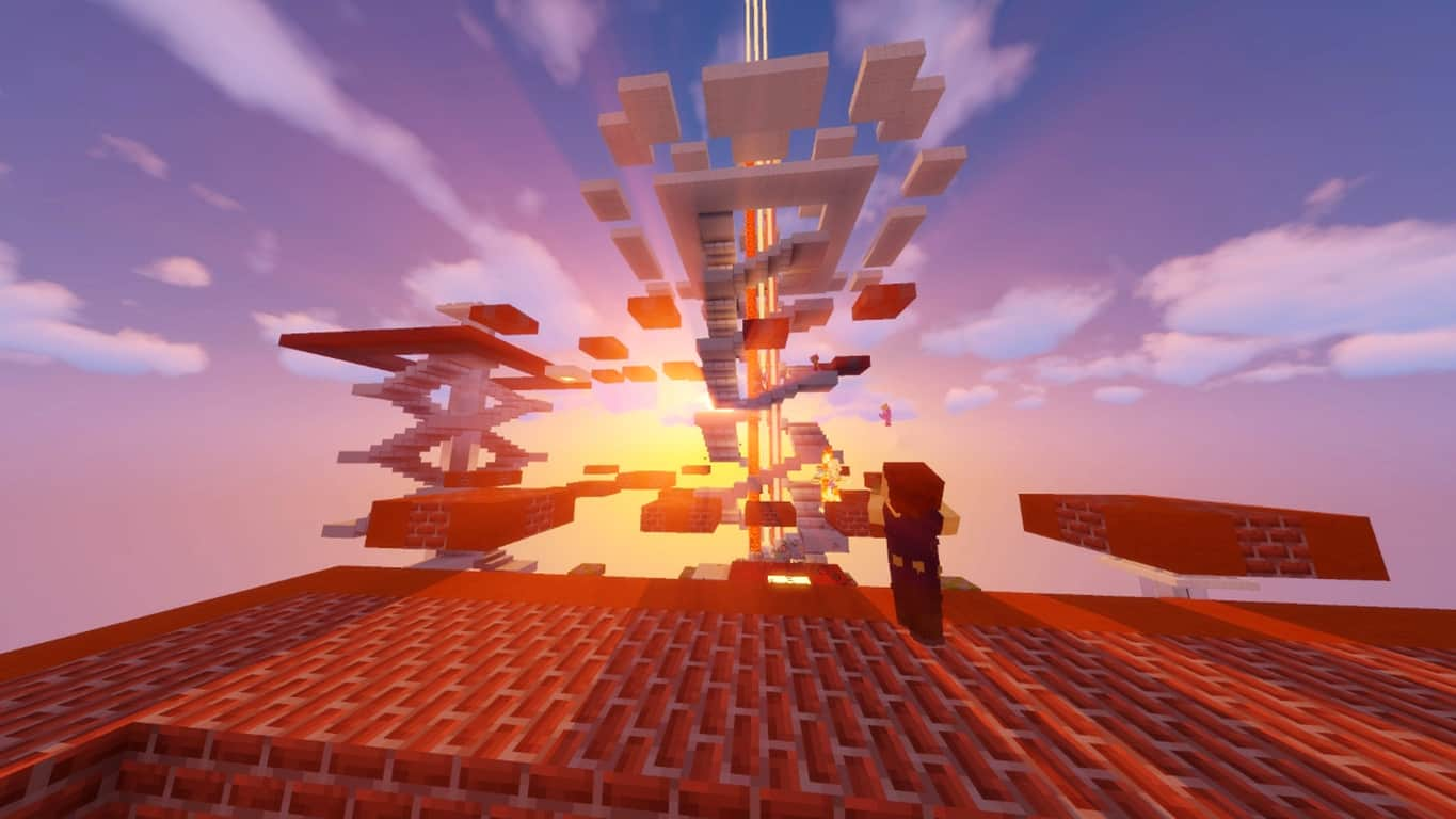 Minecraft video game updates with sound and gameplay