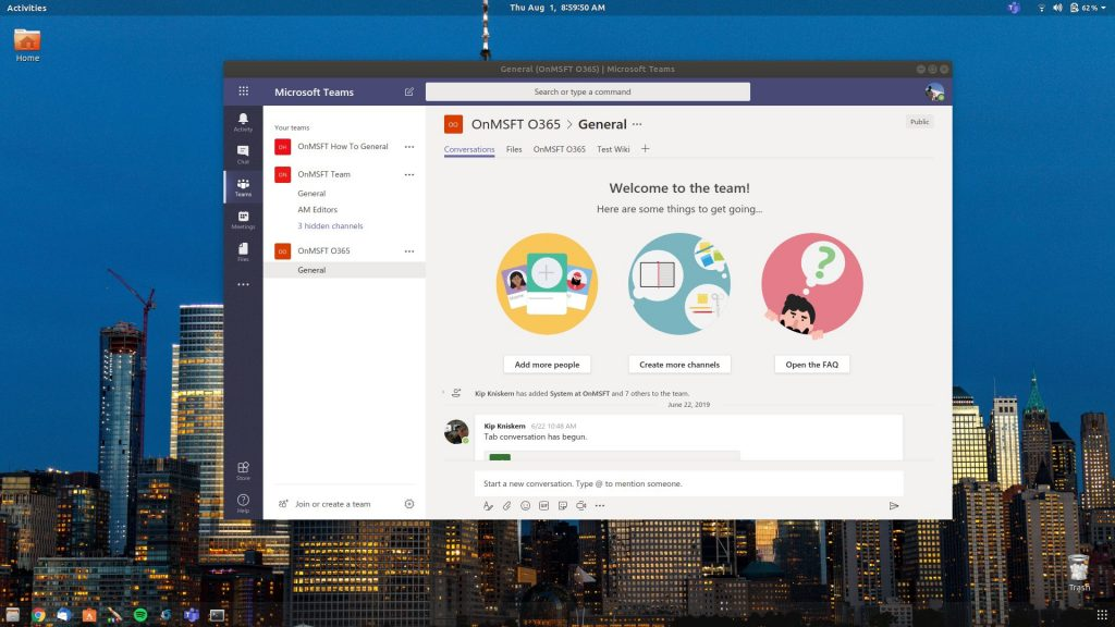 Photo :: Microsoft Teams may soon have an official Linux ap