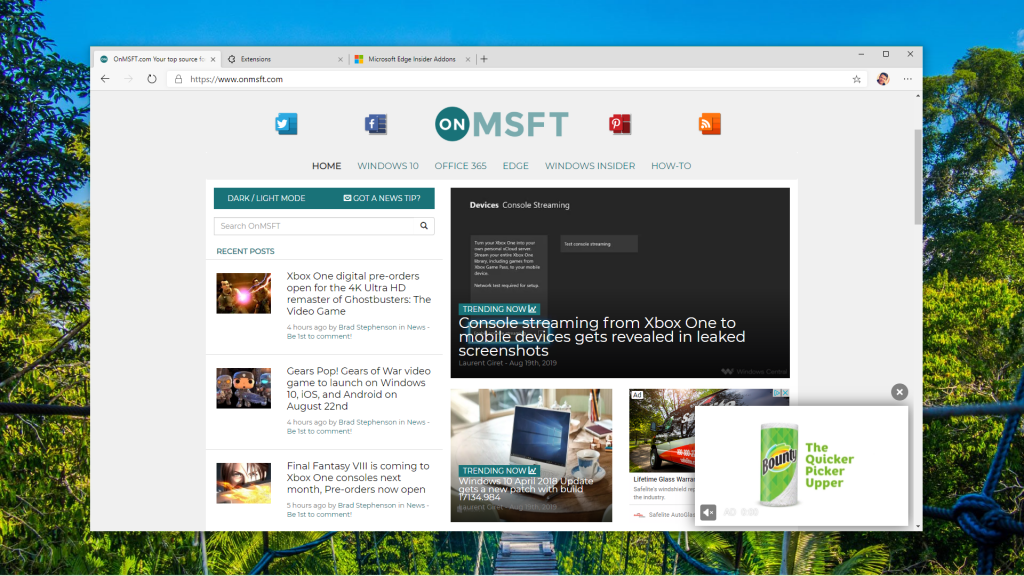 Stable version of Microsoft Edge leaks again, and it works this time