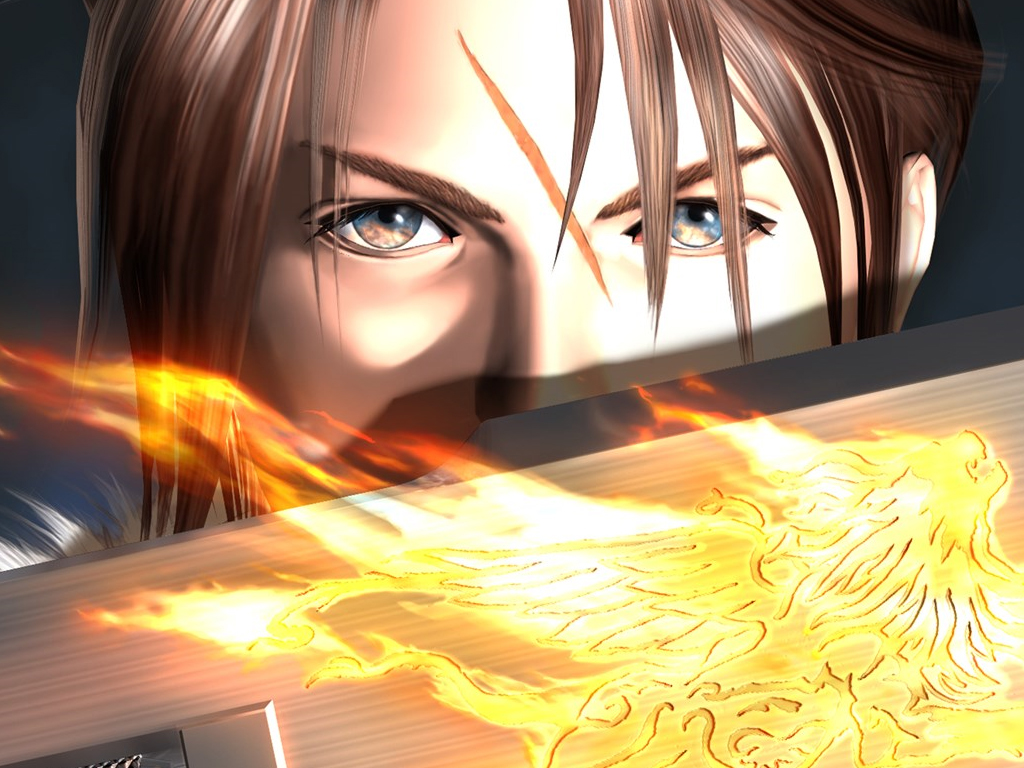Final Fantasy VIII video game on Xbox One