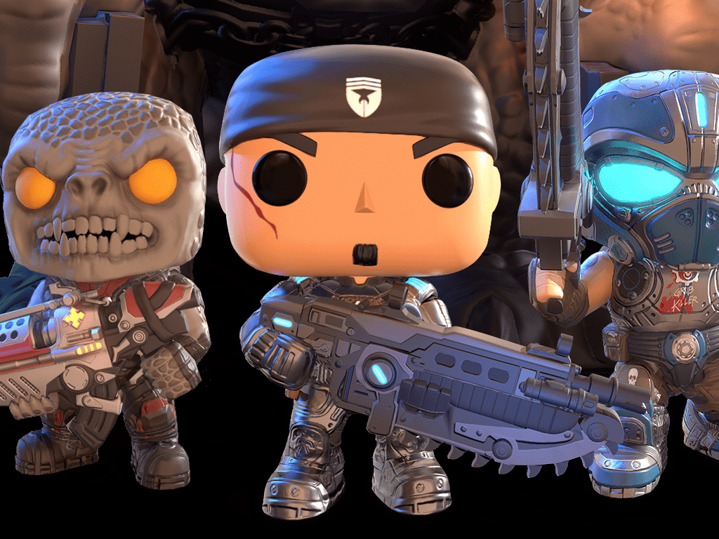 Gears Pop! video game on Windows 10, iOS, and Android