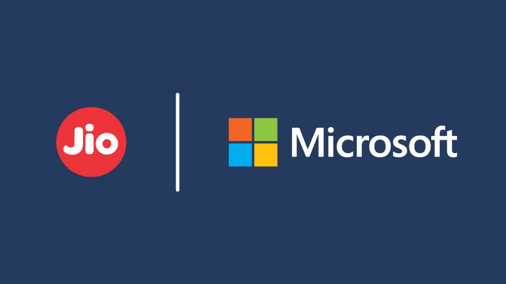 Microsoft announces alliance with leading Indian carrier, Jio, to accelerate digital transformation in the country