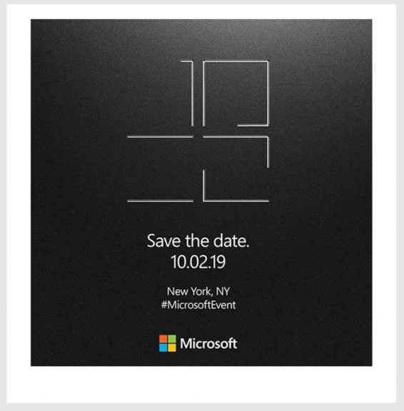 Microsoft announces Media event for October 2 in NYC, expect Surface, hardware news
